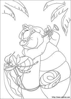 Coloriage la princesse et la grenouille color outside the lines pinterest - Coloriage la princesse et la grenouille ...