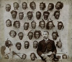Horatio Gordon Robley and his collection of Mokomokai. Mokomokai are the preserved heads of Maori. They became valuable trade items during the Musket Wars of the early 19th century.