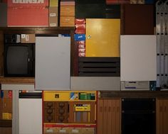 Artist Constructs 'Real-Life Tetris'