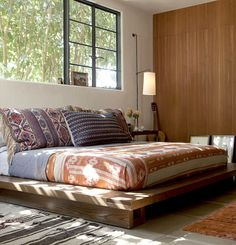 Gorgeous Hollywood Hills home by Commune Design - Bedroom interior inspiration. Dream Bedroom, Home Bedroom, Bedroom Decor, Master Bedroom, Warm Bedroom, Modern Bedroom Design, Inspired Homes, My New Room, Style At Home