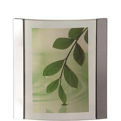 Zen Silver Vertical Photo Frame by Leonardo
