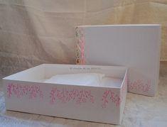 Caja personalizada para libro de Primera Comunión
