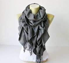I discovered this Scarf ,Ruffle scarf ,Pashmina ruffle scarf ,long scarf, in dark grey - CHOOSE YOUR COLOR on Keep. View it now. Ways To Wear A Scarf, Scarf Sale, Ruffle Scarf, Scarf Crochet, Crochet Granny, Cozy Scarf, Cute Scarfs, Pashmina Shawl, Love Fashion