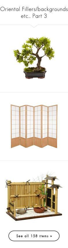 """""""Oriental Fillers/backgrounds etc... Part 3"""" by leanne-mcclean ❤ liked on Polyvore featuring home, home decor, inspirational home decor, zen home decor, panel screens, neutral, shoji screen, outdoors, decor and outdoor decor"""
