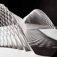 A six-tonne stone meditation space, a modular armadillo and designs by Zaha Hadid are among the highlights at Design Miami/Basel 2016 Parametric Architecture, Architecture Portfolio, Concept Architecture, Interior Architecture, Paper Architecture, Structural Model, Shell Structure, Temporary Structures, Art Basel Miami