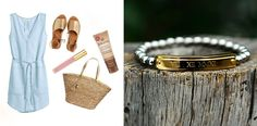 How to wear the Rustic Cuff Kerry Custom Date Bracelet for a Special Occasion / www.MarinaSays.com