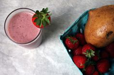 """Shake it up: Ten Ways to Embrace Change in Your Diet and a Raw Strawberry""""Milk""""Shake - Affairs of Living - gluten-free, allergy-friendly, and whole foods recipes, resources, and tips"""
