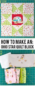 Today I am going to show you how to construct a very traditional quilt block, an Ohio Star Quilt block. Ohio Star blocks have been around for a very long time, and are usually seen in traditional quilt...