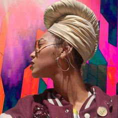 We Need To Talk About Beyoncé's Glorious Golden Headwrap from essence.com