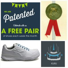 WIN A FREE PAIR OF KURU SHOES! Check out our Facebook page, leave a comment on this post and be entered to win a free pair of shoes! Promo July 8-11. Winner announced July 11th at 4pm mst.