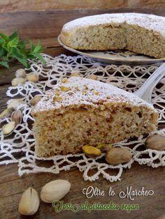 Torta con Pistacchi Vegan, cibi vegani, come fare torta soffice, dolci con pistacchi, ricetta torta vegana