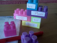 blessing blocks- build a blessing tower with bricks and labels! Adapt a cheap Jenga game?