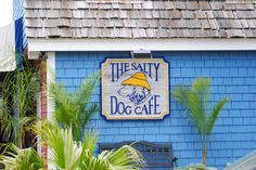 The Salty Dog Cafe,Hilton Head,SC  OMG, I had a friend who worked there for a couple years, she had to where the Salty Dog costume sometimes in 100+ heat!!