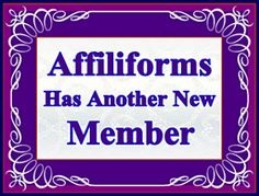 Another New Member on Affiliforums ~