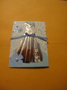 Iris Folding ATC by trayseeh, via Flickr