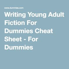 What NOT To Do When Writing YA Books (Advice From a Teen Writer)