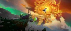 Desenvolvimento Visual de Kung Fu Panda 3, por Arthur Fong | THECAB - The Concept Art Blog