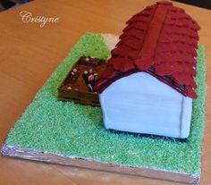 Mobilház torta 1.