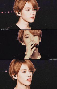 Baekhyun - wow, this guy...beautiful. ❤❤