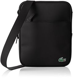 Lacoste NH2021PO, Sac Bandouliere Hommes, 26 x 3 x 20 cm: Lacoste Lacoste – Sacoche Lacoste ref_cem40351-963-26*20*4 Sac homme Sacoche…