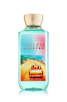 Endless Weekend Shower Gel - Signature Collection - Bath & Body Works