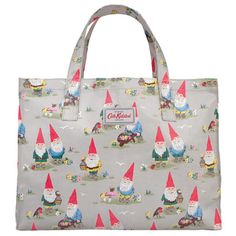 Garden gnomes open carry all bag. (Oh dear, sweet Cath Kidston. Someday I will be broke because of you!)