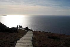 The end of Skyline Trail - Highlands National Park - Cape Breton, Nova Scotia, Canada.