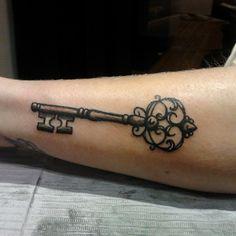 #antique #key #tattoo by Alex Zgud!