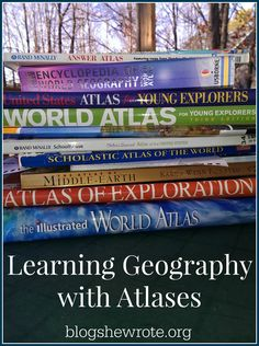 Learning Geography with Atlases