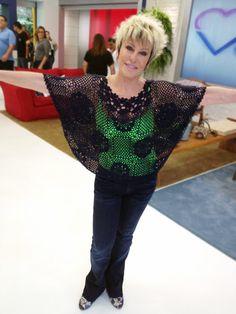 Blusa usada dia 24/10/2012 pela apresentadora Ana Maria Braga em seu programa:                           Blusa Le lis blanc  Post ...