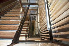 Poplar Hall staircase