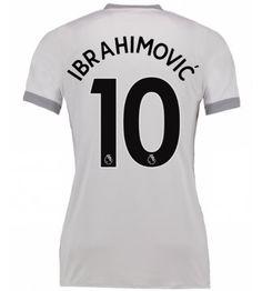 Manchester United Zlatan Ibrahimovic 10 Tredje Tröja Dam 17-18 Kortärmad Manchester United, The Unit, Fashion, Moda, Fashion Styles, Man United, Fashion Illustrations