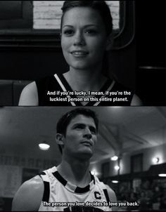 Nathan and Haley = one of the best couples ever.