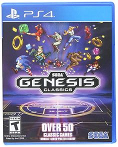 SEGA's collection of Genesis classics comes to a new generation of consoles and players Over 50 titles across all genres from all-time classics like Sonic and Streets of Rage 2 to deep RPGs like the Phantasy Star series. Video Games Xbox, New Video Games, Vr Games, Xbox One Games, Playstation Games, Sega Genesis, Videogames, Altered Beast, Wonder Boys