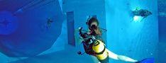 Fosse de plongée LA PLUS PROFONDE du MONDE depuis 2004 !