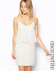 ASOS+PETITE+Cami+Dress+With+Overlay