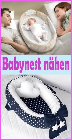 Sewing Baby Nest / Nest - Simple DIY Instructions and Patterns - I have for S . Sewing Baby Nest / Nest – Simple DIY Instructions and Patterns – I& put together a free, Easy Knitting Projects, Knitting For Beginners, Sewing Projects, Diy Projects, Diy Bebe, Baby Kind, Baby Sewing, Sew Baby, Baby Cribs