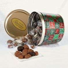 Giannios 6 lb. Deluxe Chocolates in Signature Tin | sweet ...