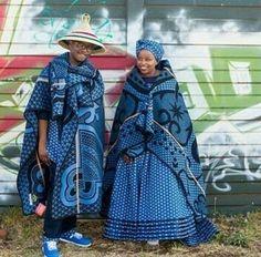The Best Shweshwe Dresses 2019 African Wedding Attire, African Attire, African Wear, African Dress, African Style, African Weddings, African Clothes, African Lace, Traditional Wedding Attire