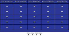 Superflex Jeopardy