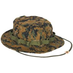 Digital Woodland Boonie Hat - ArmyNavyShop.com