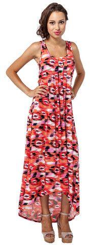 Stella Dress in Sunset - Leota