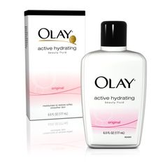 Olay Active Hydrating Beauty Fluid, Original, 6 Ounce (Pack of 2) $16.78