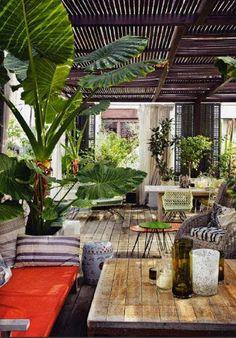 Inspiration pour une terrasse en Guyane