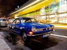Blue Karmann Ghia TC