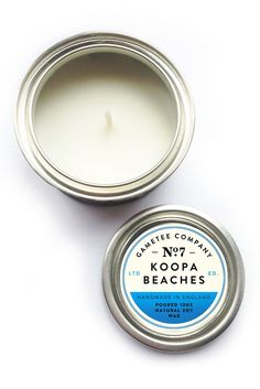Gametee Gaming Inspired Candle - Koopa Beaches Sunshine and Shells! Home fragrance candle inspired by tropical beaches and fresh coconuts. Rich and...