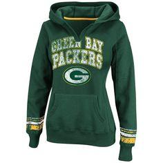 Green Bay #Packers Women's Pre-Season Favorite Pullover Hooded Fleece. Click to order! - $54.99