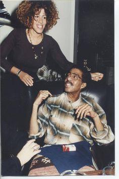 Richard Pryor & daughter Rain