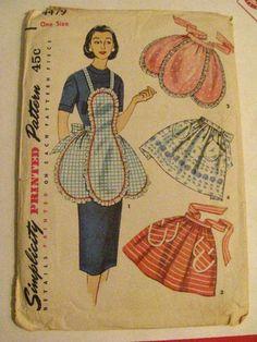 50's Must sew!!! Cute Aprons!