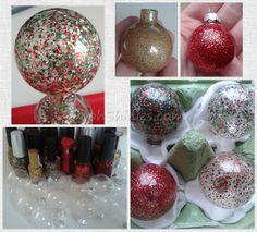 Polished ornaments